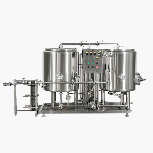 2BBL Thermal Oil Heated Brewhouse