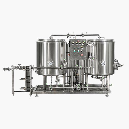 100L-300L THERMAL OIL HEATING BREWHOUSE 2 VESSELS, 2nd GENERATION