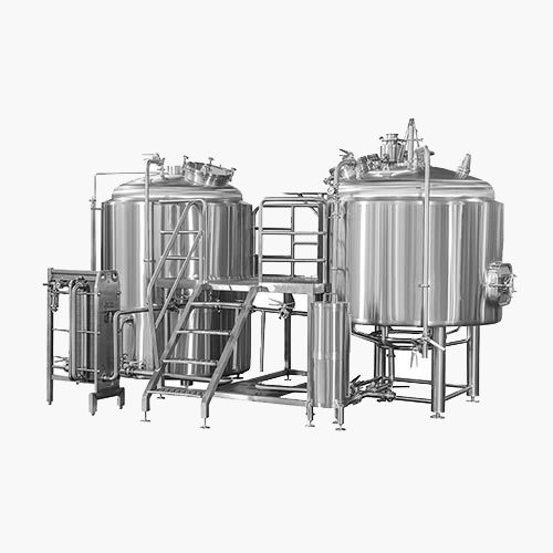 15BBL FIRE HEATING NANO BREWHOUSE 2 VESSELS