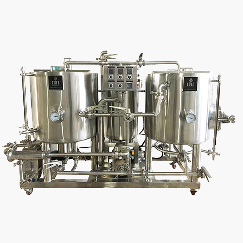1BBL-3BBL THERMAL OIL HEATING BREWHOUSE 2 VESSELS, 3rd GENERATION