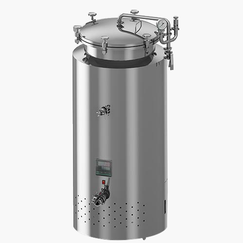 100L MOBILE FERMENTATION VESSEL WITH ENGINE DRIVE COOLING SYSTEM