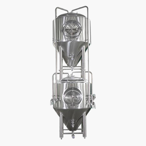 ໂຮງງານ 10BBL UPRIGHT STACKED TANK FERMENTER UNITANK