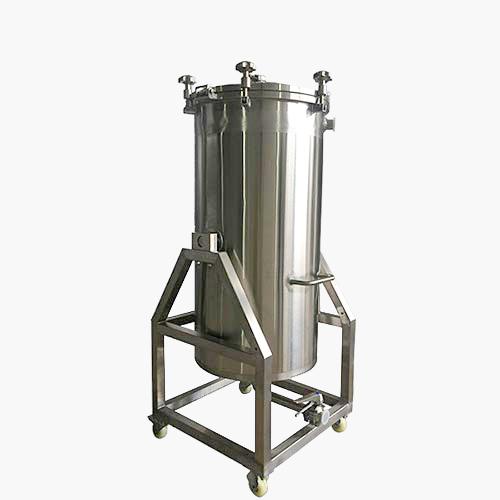 2BBL MOBILE HOP BACK TILTABLE STRAINER