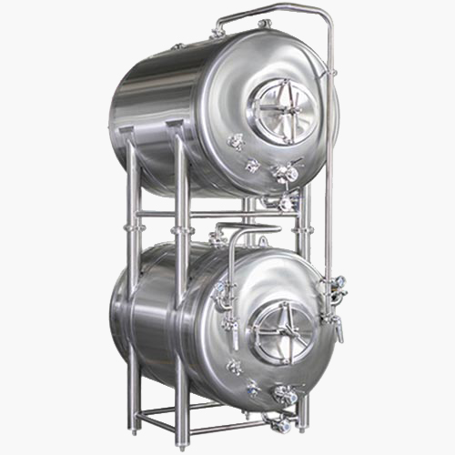10BBL HORIZONTALLY STACKED BRIGHT BEER SERVING TANK