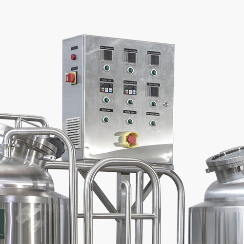 Brewhouse Control Panel Manual Opertion
