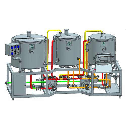 1BBL Electric Brewing (pieejams pielāgots izmērs)