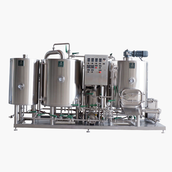 300L Thermal Oil Heated Brewhouse
